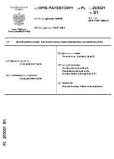 Sposób pomiaru energii łuku elektrycznego prądu przemiennego na zestyku łącznika : opis patentowy nr 203021