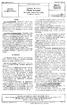 Obrabiarki do drewna - Pilarki tarczowe - Wymagania bezpieczeństwa pracy w zakresie konstrukcji BN-75/1614-03