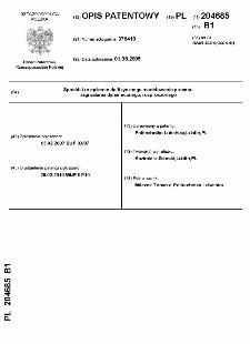 Sposób i urządzenie do fizycznego modelowania procesu magniatania dynamicznego, rozproszonego : opis patentowy nr 204685