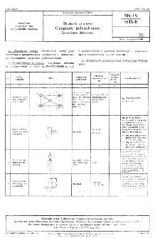 Obrabiarki do drewna - Czopiarki jednostronne - Sprawdzanie dokładności BN-75/1615-11