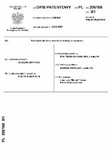 Rura hydrauliczna o zmiennej średnicy wewnętrznej : opis patentowy nr 206168
