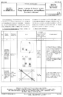 Maszyny i urządzenia do łączenia i montażu - Prasy hydrauliczne wielopółkowe - Sprawdzanie dokładności BN-76/1675-02