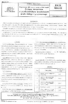 Wyposażenie elektryczne maszyn włókienniczych - Zestawy sterownicze z przekształtnikami tyrystorowymi prądu stałego i przemiennego BN-78/1806-03