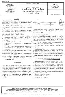 Maszyny włókiennicze - Grzebienie (płytki) uiglone do łańcuchów suszarek - Wymagania i badania BN-73/1889-03