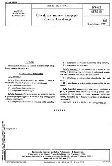 Chwytacze maszyn szyjących - Zasady klasyfikacji BN-62/1870-01