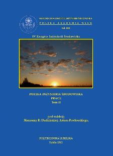 Polska Inżynieria Środowiska : prace. Tom 2