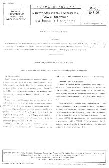 Maszyny włókiennicze i wyposażenie - Cewki tarczowe dla łączarek i skręcarek BN-86/1848-06