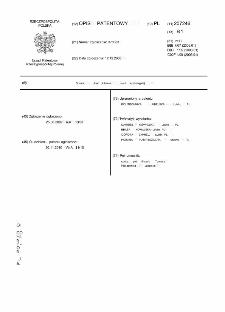 Sposób i układ płukania sieci wodociągowej : opis patentowy nr 207246