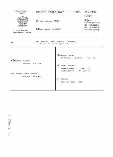 Układ stabilizacji prądu termoemisji elektronowej, zwłaszcza dla wysokich energii elektronów : opis patentowy nr 210947