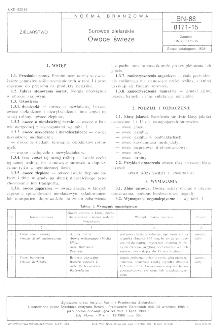 Surowce zielarskie - Owoce świeże BN-88/8171-15