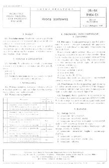 Kreda pastewna BN-84/9164-01