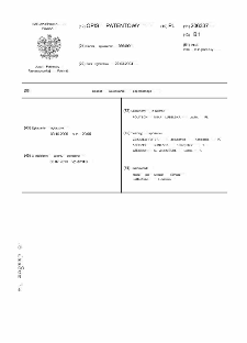 Sposób walcowania poprzecznego opis patentowy nr 206337
