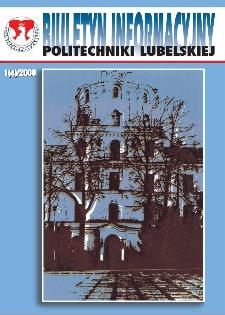 Biuletyn informacyjny Politechniki Lubelskiej 1(4)/2000