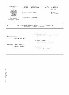 Układ do wykrywania i sygnalizowania niewłaściwej kolejności faz w elektrycznych obwodach trójfazowych opis patentowy nr 208038