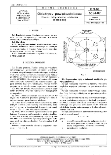 Obiektywy powiększalnikowe - Pomiar fotograficznej zdolności rozdzielczej BN-89/5524-02