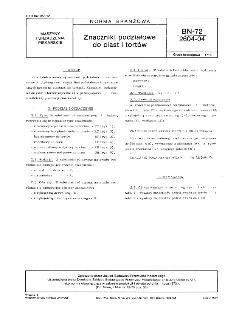 Znaczniki podziałowe do ciast i tortów BN-72/2604-04