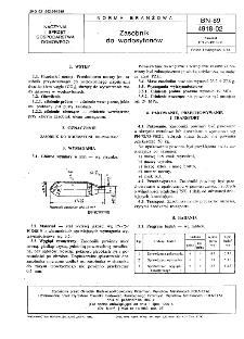 Zasobnik do wodosyfonów BN-89/4918-02