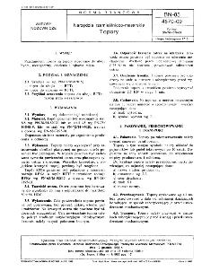 Narzędzia rzemieślniczo-masarskie - Topory BN-85/4570-09