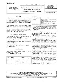 Sprzęt do przygotowywania potraw - Przybory kuchenne - Wspólne wymagania i badania BN-83/4937-09