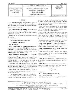 Przyrządy powszechnego użytku o napędzie elektrycznym - Sokowirówki - Wymagania i badania BN-74/4949-01