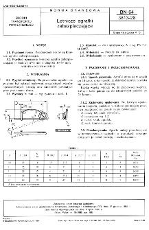 Lotnicze agrafki zabezpieczające BN-64/3813-26