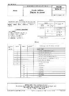 Okucia meblowe - Złącza śrubowe BN-89/5054-01