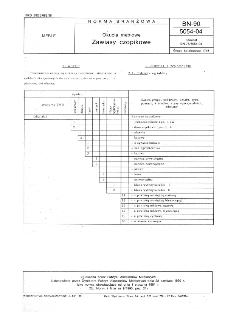 Okucia meblowe - Zawiasy czopikowe BN-90/5054-04