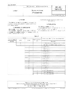 Okucia meblowe - Prowadniki BN-89/5054-06