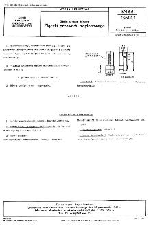 Silniki lotnicze tłokowe - Złączki przewodu zapłonowego BN-66/1361-01