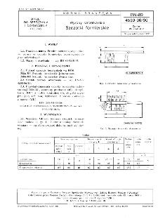 Wyroby szczotkarskie - Szczotki formierskie BN-89/4550-06/90