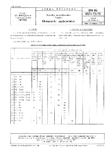 Wyroby szczotkarskie - Pędzle - Mieszanki pędzlarskie BN-85/4551-23/05