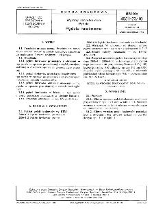 Wyroby szczotkarskie - Pędzle - Pędzle ławkowce BN-85/4551-23/10