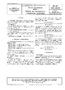Wyroby szczotkarskie - Pędzle - Pędzle do nakrapiania i malarskie pozostałe BN-85/4551-23/25