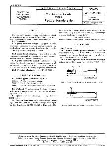 Wyroby szczotkarskie - Pędzle - Pędzle formierskie BN-85/4551-23/40