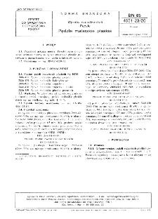 Wyroby szczotkarskie - Pędzle - Pędzle malarskie płaskie BN-85/4551-23/20