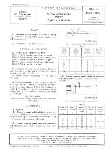 Wyroby szczotkarskie - Pędzle - Pędzle szkolne BN-85/4551-23/50