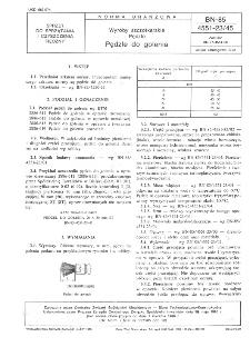 Wyroby szczotkarskie - Pędzle - Pędzle do golenia BN-85/4551-23/45