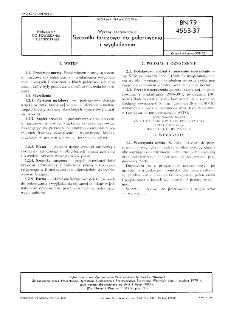 Wyroby szczotkarskie - Szczotki tarczowe do polerowania i wygładzania BN-79/4553-37