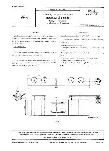 Metody badań zabawek pojazdów dla dzieci - Próby wytrzymałości na obciążenie dynamiczne BN-83/8550-07
