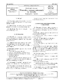 Chłodziarki domowe - Wanienki z tworzyw sztucznych do skroplin - Wymagania i badania BN-74/4943-03