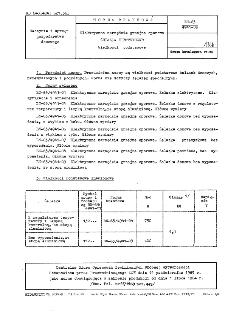 Elektryczne narzędzia grzejne oporowe - Żelazka elektryczne - Wielkości podstawowe BN-63/4941-03