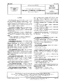 Elektryczne chłodziarki domowe - Agregaty chłodnicze sprężarkowe - Wymagania i badania BN-75/4943-07