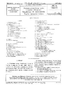 Przyrządy powszechnego użytku o napędzie elektrycznym - Urządzenia do miksowania - Wspólne wymagania i badania BN-76/4949-02