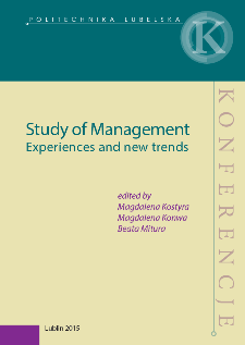 Study of management : experiences and new trends
