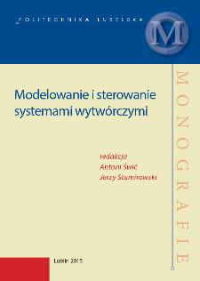 Modelowanie i sterowanie systemami wytwórczymi