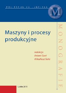 Maszyny i procesy produkcyjne