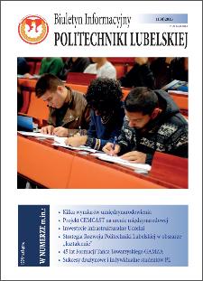 Biuletyn Informacyjny Politechniki Lubelskiej nr 38 - 1(38)2015
