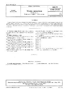 Wyroby aerozolowe - Metody badań - Postanowienia ogólne i zakres normy BN-79/6140-09.00