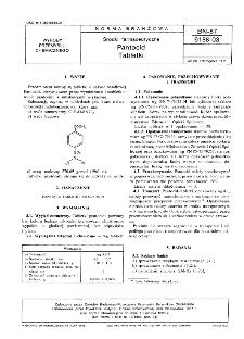 Środki farmaceutyczne - Pantocid - Tabletki BN-87/6188-03