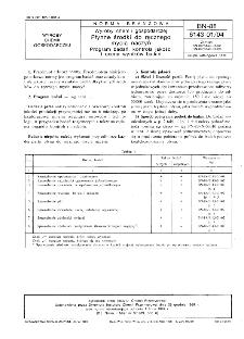 Wyroby chemii gospodarczej - Płynne środki do ręcznego mycia naczyń - Program badań, kontrola jakości i ocena wyników badań BN-88/6143-01/04